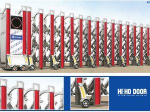 Cổng xếp Inox HEKO 79