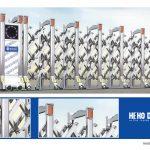 Cổng xếp giá rẻ điện công nghệ mới tại Hà Nội