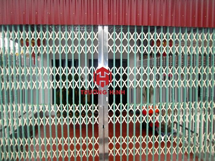 Cửa xếp Đài Loan Trường Hinh giá rẻ nhất Hà Nội