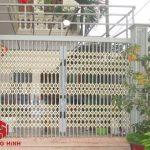 Cửa xếp Đài loan không lá gió có giá rẻ nhất Hà Nội