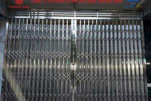 Lắp đặt cửa xếp inox tại thành phố Bắc Ninh